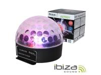 Ibiza Projetor Luz C/ 3 LEDS RGB 3W Mic LL081LED