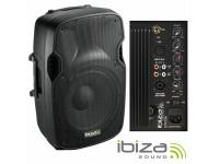 Ibiza XTK10A B-Stock  Ideal para instalações de tamanho pequeno ou médio   activa (plug and play)  Coluna bi-amplificada (permite ligar outra passiva)  Potencia (RMS / Peak Level / Power Handling): 150 / 300 / 750W