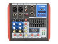 Karma  4 Canais USB/Bluetooth KM-MXM04