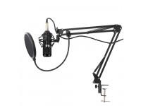 Karma  Microfone Estúdio c/ Suporte KM-CMC20