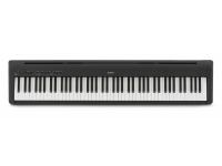 Kawai ES-110 B  O piano de palco digital Kawai ES110 oferece musicalidade avançada, simplicidade e portabilidade a qualquer músico em desenvolvimento ou aspirante a pianista   88 teclas  Mecanismo Hammer Compact Action RH-C  Polifonia 192 notas  19 sons  100 ritmos  Gravador e metrónomo  Transpose  Amplificação 2x7w  Pedal sustain incluído.  Pedaleira e suporte opcionais  Toque autêntico  Harmonic Imaging tecnologia de som  Bluetooth
