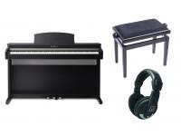 Pack de piano Kawai KDP 110 Rosewood Pack      O piano digital KDP110 capta o som fabuloso do aclamado piano de concerto SK-EX da Kawai, com todas as 88 teclas desse instrumento excepcional meticulosamente gravado, analisado e reproduzido fielmente usando a avançada tecnologia Harmonic Imaging