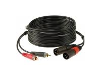 Klotz AT-CM0600  Cable macho RCA-XLR