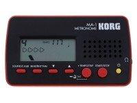 Korg MA-1   Metrónomo Korg MA-1 - Cor preto e vermelho