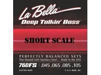 Conjunto de Cordas para Baixo Elétrico La Bella 760FS-S