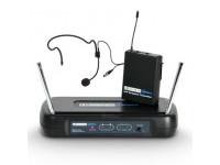 Sistema sem fio com bolso e microfone LD Systems  ECO 2 BPH B6 II
