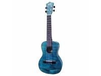 Ukulele Soprano Leho Ukulele Exotic Mahogany Soprano Mlus-xm-bs    Leho Ukulele Exotic Mahogany Mlus-xm-bs azul sea é um ukulele soprano