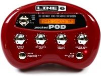 Line6 Pocket Pod B-Stock  Processador, 64 amp/fx/colunas, mesmos sons do POD2.0, + 300 programas (incluindo presets de artistas), 4 controladores, afinador, ligação USB, portátil