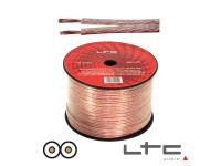 LTC Audio 2x2.50mm Transparente 100m Ltc Hi-Fi