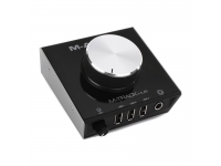 """M-Audio M-Track Hub   M-Audio M-Track Hub Controlador para monitores com interface M-Audio M-Track Hub  Interface com 24-bit/48kHz (playback/saída apenas) e hub com 3 portas USB  2 saídas balanceadas jack 1/4"""" com potenciómetro grande para controlo de volume e saída para auscultadores  Construção robusta  Dimensão: 113 x 107 x 70 mm  Peso: 340g."""