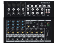 Mesa de Mistura Analógica Mackie MIX12FX B-Stock  Mesa de mistura Mackie MIX12FX - 12 Channel Compact-Mixing Console - Internal Effects - 4 Mic/Line Inputs with 3Band-EQ and Phantom-Power