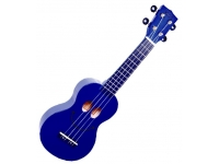 Mahalo Smiley Ukulele Blue
