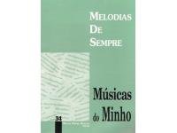 Livro de canções Manuel Pereira Resende Melodias de Sempre Musicas do Minho 34