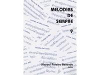 Livro de canções Manuel Pereira Resende Melodias de Sempre nº9