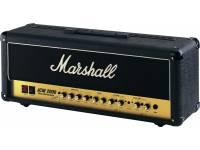 Cabeça para Guitarra Elétrica Marshall DSL100    100 watts Dual Super Lead    Circuito total a válvulas (4x ECC83s, 4x EL34s)    Ideal para as colunas Marshall 1960 A & B