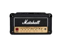 Marshall DSL1HR  El cabezal de válvula Marshall DSL1HR de 1 vatio es la respuesta a las necesidades de amplificación de su hogar o estudio. Ofrezca 1 vatio de volumen con una nueva potencia ajustable para un funcionamiento aún más silencioso. A pesar del bajo potencial de volumen del amplificador, el DSL1HR todavía proporciona la calidez de la válvula y la respuesta orgánica que los guitarristas adoran. Llamar a este amplificador 'práctica' sería casi una injusticia: el DSL1HR está diseñado como un verdadero 'mini' DSL; usa la marca DSL con orgullo, ofreciendo muchas características de los modelos más grandes. Incluye el amplificador de reverberación para un entorno natural sin efectos externos, dos canales para un cambio de sonido versátil y un ecualizador completo para esculpir su tono. El amplificador también incluye un modo de grabación silenciosa muy útil que permite la operación sin un altavoz. El modo de grabación silenciosa se complementa con una salida de Softube emulada para el sonido auténtico de un Marshall 1960 con micrófono profesional desde el gabinete. El DLS1HR es un paquete con todas las funciones que proporciona la gama ideal de características y niveles de volumen para que sea perfecto para uso doméstico o de estudio.