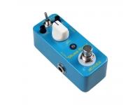 """Mooer Blues Mood   Pedal de Guitarra Mooer Blues Mood  Som de estilo blues overdrive de resposta de larga frequência, também soa bem com baixo  2 Modos de funcionamento: Bright/Fat  Chassis todo em metal  Muito pequeno e requintado  Verdadeiro bypass  Entrada: jack mono 1/4"""" (impedância: 1M Ohms)  Saída: jack mono 1/4"""" (impedância: 1K Ohms)  Requisitos de alimentação: Adaptador AC 9V DC (center minus plug)  Consumo de corrente: 6 mA  Dimensões: 93.5 mm (P) × 42 mm (L) × 52 mm (A)  Peso: 160g"""
