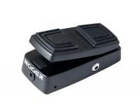 """Mooer Free Step  Wah Pedal y Volume Mooer Free Step  Doble ventaja como pedal Wah y Volume  Diseño análogo  Componentes de alta calidad  Sensor de presión, táctil, MODO, regulación de onda Q y controles de ajuste de volumen mínimo  True Bypass para pasar la señal pura cuando está deshabilitado  LED indicador de funcionamiento  Robusto, compacto y ligero.  Entrada: jack mono de 1/4 """"(impedancia: 1M Ohms)  Salida: 1/4 """"mono jack (impedancia: 100 ohmios)  Alimentación: fuente de alimentación de 9 V CC (3 mA - enchufe central negativo) (fuente de alimentación no incluida)  Consumo de corriente: 70 mA  Origen: China  Peso: 540 g  Dimensiones (W x D x H): 15.5 x 7.3 x 5.3 cm"""