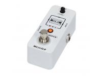 Mooer Micro Looper  Mooer Micro Looper  True Bypass: cuando el Micro Looper está en el estado Bypass, no afectará la señal original, lo que garantiza que su señal sea clara y sin pérdidas.  Tiempo de grabación: el Micro Looper tiene hasta 30 minutos de tiempo de grabación, suficiente para grabar su propia música.  Tiempos de sobregrabación ilimitados: el Micro Looper no tiene tiempos de sobregrabación máximos.  Restauración de sonido de alta calidad: utilizando componentes electrónicos de alta calidad que aseguran una señal de reproducción de audio tan clara como en la forma en que se graba, nunca se perderá ningún detalle.  Tamaño Mini: heredando el tamaño Mini de los pedales de la serie MICRO, su pedalera tiene más espacio y, como tal, puede colocar otros pedales.  Perilla de nivel de bucle: esta pequeña perilla controla el volumen del bucle. ¿No puedes escuchar tu solo? Baje un poco el volumen.  Operación fácil: detener / eliminar / rehacer, todas estas funciones se pueden controlar con solo un pedal.  Función de grabación en bucle: ¿Le preocupa perder sus grabaciones después de apagar el pedal? No debe preocuparse, el MICRO LOOPER guarda automáticamente todas las grabaciones cuando está apagado. Nunca perderás tu inspiración.