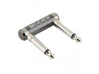 Mooer U Shape Pedal Connector   Conector para pedais de efeito em forma de U  Ideal para combinar efeitos da série Mooer Spark  Conector monoclip de 2 x 6,3 mm