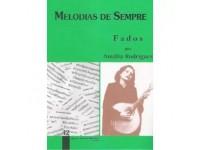 Livro de canções MPR Livro Melodias De Sempre Volume 42 Amália Rodrigues
