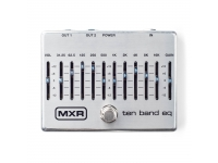 MXR M-108S   Pedal de guitarra MXR M-108S Equalizador Cinza