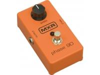 MXR M101 Phase 90  MXR M101 Phase 90 Guitar Pedal - Phaser para guitarra, bajo, teclados e incluso voces, cubierta muy sólida, interruptor de metal, control de velocidad, 1 entrada, 1 salida, LED de estado, alimentación con batería de 9V o fuente de alimentación opcional
