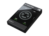 Native Instruments Traktor Audio 2 MK2  Native Instruments Traktor Audio 2 MK2  Interfaz de audio USB  4 canales, 24 bits, 44-96 kHz  Ultraportátil  ASIO, CoreAudio, DirectSound, WASAPI  Compatibilidad Mac / Windows