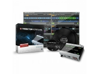 Native Instruments Traktor Scratch A6  Native Instruments Traktor Scratch A6  Sistema de DJ digital para 2 cubiertas  Controla 2 mazos  Incluye nueva interfaz Audio6  Incluye CD de control y vinilos.  ¡Nuevo visor TruWave!