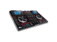 Numark NV II   NV reinventa a experiência de software de hardware para o DJ profissional. No centro do chassi compacto e elegante da NV, há um conjunto de telas coloridas de 4,3 polegadas que fornecem feedback 1: 1 em tempo real do Serato DJ; completo com plataformas virtuais giratórias, efeitos (FX), pontos de sinalização, formas de onda e muito mais. Os DJs podem tocar com o laptop fechado ou fora da vista sem sacrificar a funcionalidade e experimentar o melhor da experiência do software Serato DJ no hardware Numark aclamado pela crítica.