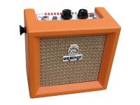 Orange Crush Mini  Orange Crush Mini  Características: sintonizador integrado, conector para auriculares de 3,5 mm, conector de 8 ohmios para altavoces externos, conector auxiliar de 3,5 mm