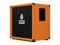 """Orange OBC 410 Speaker Cab  Cabina de altavoz naranja OBC 410  4x 10 """"gabinete bajo  Equipado con: 4 altavoces de 10 """"+ bocina HF  Potencia nominal: 600 W  Impedancia: 8 ohmios  Carcasa de madera contrachapada de 18 capas  Dimensiones: 62 x 62 x 46 cm.  45 kg"""