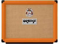 Orange Rocker 32  Orange Rocker 32  Características: Combo de guitarra estéreco com canal duplo totalmente valvulado 2 x 10″, efeitos de loop valvulados e modo Half Power  Controles (direita para esquerda): Canal Natural: Volume / Canal Dirty: Gain, Bass, Middle, Treble, Volume / Chanel Selector, Half/Stby/Full Power Selector / Chave Liga/Desliga  Saída: 30W / 15W de potência (15 Watts por lado ou 7,5 Watts por lado, comutável)  Válvulas: Preamp: 4 x ECC83/12AX7 e 2 X ECC81/12AT7 / Amp: 4 x EL84  Falantes: 2 falantes Orange Voice of the World Gold Label 10″  Loops de efeito: Sim, valvulados, com retorno mono ou estéreo  Dimensões: 58 x 46 x 29cm  Peso: 23,3 kg
