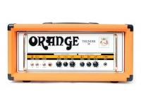 Orange THUNDER 30H  Orange THUNDER 30H  Amplificador de tubo de guitarra  Dos canales  Potencia: 30 W RMS  4 x tubos amplificadores EL84  4 x tubos de preamplificador ECC83  1 x tubo ECC81 para el bucle de efectos  Canal sucio con volumen / forma / ganancia  Canal limpio con agudos / graves / volumen  Conmutable a 15 W y 7 W  Con bucle de efectos (envío / retorno)  Conector de pedal opcional  Conectores de altavoces para altavoces de 1 x 16 ohmios o hasta 2 x 8 ohmios  Dimensiones (H x W x D): 27 x 55 x 24 cm  Peso: 15,5 kg.