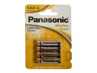 Panasonic Pilha Alcalina 1.5V Lr03 Aaa Powerline 4