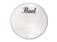 """Pearl  Pele para Bombo 18'  PTH18CEQPL COATED  Pele para Bombo 18"""" Pearl PTH18CEQPL COATED  Pele de ressonância para bombo da sérieProtone. Tamanho 18"""" com logo branco e anéis Perimeter EQ integrados."""