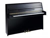 Piano Vertical Yamaha B1  Yamaha B1 Altura: 109 cm Largura: 148 cm Peso: 174 kg Cor: Preto Polido