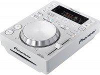 Leitor de CD simples Pioneer CDJ-350-W  Leitor de CD's Branco com USB. Compatível com o software de gestão de músicas Recordbox.