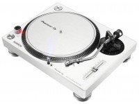 Gira-discos Pioneer PLX-500-W  Gira-discos profissional de acionamento direto. Cor Branca.