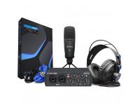 Conjunto de gravação de interface de áudio USB Presonus  Audiobox 96 Studio 25th Anniv