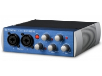 Presonus AudioBox USB 96  Presonus AudioBox USB 96  Interfaz de audio USB 2.0  2x IN - XLR / 48V + 2x Line In  Frecuencia de muestreo: 96 kHz  Incluye: Presonus Studio One Artist Software + Studio Magic Plugin Suite  Jack salidas balanceadas