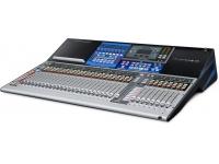 """Presonus StudioLive 32 Series III  Mesa Mistura Digital PreSonus StudioLive 32 Series III. Cor: . Mesa digital com 40 entradas para mistura/gravação com faders motorizados. 16 entradas microfone (XLR) e 16 entradas combo (XLR/jack balanceado), 2 entradas stereo AUX (jack balanceado), entrada stereo RCA, entrada talkback (XLR), phantom power individual por canal. 16 saídas (12x XLR, 4x jack balanceado), saída monitor (jack L/R balanceado), saída stereo RCA, saída auscultadores stereo, saída digital AES / EBU (XLR), porta de rede para controlo remoto e saída audio em rede protocolo AVB. Interface audio com 38 x 38 entradas/saídas USB, cartão SD para gravação de 32 pistas e memórias/cenas (sem computador), 33 faders motorizados sensíveis e assignáveis, 24 grupos DCA para assignar canais, 100 memórias para gravar, editar e carregar cenas. Recetor Bluetooth 4.1 integrado para tocar audio directamente de iPhone e smartphone, ecrã táctil a cores com 7"""", processador interno de dinâmico (noise gate/expander, limiter, compressor, EQ) e efeitos (4 processadores para efeito - 2x delay + 2x reverb), delay programável para cada entrada e saída, equalizador paramétrico de 6 bandas par todas as saídas, gerador de sinal e analisador de espectro em tempo real, 8 equalizadores gráficos de 31 bandas. Dimensão: 823 x 584 x 166 mm. Peso: 16.9 kg."""