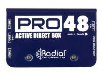 DI-Boxe ativa Radial Engineering Pro 48