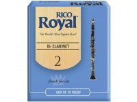 Palheta nº2 Rico Royal Bb Si bemol Clarinete 2