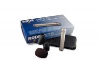 """Rode NT5 S    Microfone idêntico ao par calibrado Røde NT5. Neste caso, é apenas fornecido um destes fabulosos microfones (daí o -S de Single no nome do modelo), a bolsa de pele sintética ZP1, cachimbo adaptador de tripé RM5, protector de vento WS5 e adaptador de rosca para diferentes medidas de tripés.    Com diafragma dourado de 1/2 """"    Cardióide    Acabamento em níquel acetinado    Ruído muito baixo    Resposta de freqüência completa    Eletrônica ativa: conversor de impedância JFET    Faixa de freqüência: 20 Hz a 20 kHz    Sensibilidade: -38 db a 1v / Pa + -2 dB    Saída máxima: +13.9 dBu    Faixa dinâmica:> 128 dB    Sinal para relação de ruído: 78 dB    Peso: Microfone 100g    Phantom power requerido (18V - 48V)    Incluindo pára-brisa, adaptador de tripé e estojo"""