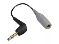 Rode SC3  Rode SC3  El SC3 es un cable adaptador que le permite conectar un micrófono SmartLav a las entradas mini-jack.  Con acoplamiento TRRS y miniconector TRS de 3,5 mm  Para conectar Rode smartLav o smartLav + a cámaras o grabadoras móviles  Contactos chapados en oro  Longitud: 17 cm  Peso: 20 g