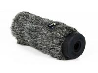 """Rode WS7   Rode WS7  O DeadCat VMP trata-se do protector de pêlo anti-vento para o microfone NTG-3.  """"Veste-se"""" por cima da espuma que já vem com o microfone, e normalmente significa a diferença entre uma gravação de exteriores mais limpa e imune ao ruído, ou uma gravação com distorção originada pelos ventos."""