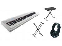 Pack para piano Roland FP-30X WH Bundle  Paquete Roland FP-30 WH