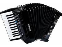 Acordeão Electrónico de Teclas Roland FR-1X BK Acordeão Teclas Preto