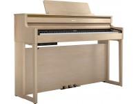 Piano Digital com Móvel Roland HP704 LA Light Oak Piano Premium